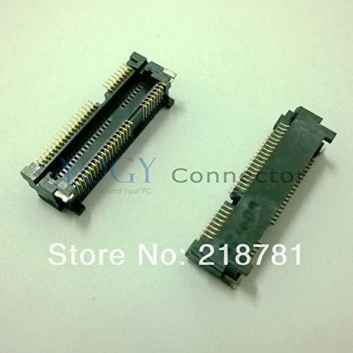Ochoos 10 x Neue Original 52PIN 6,8H Mini PCI-E PCIE Slot Connector Buchse für Laptop Lenovo Wireless Netzwerkkarte -