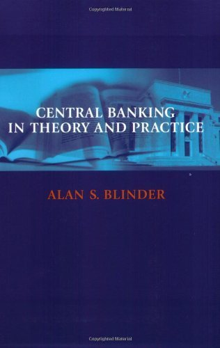 Portada del libro Central Banking in Theory and Practice (Lionel Robbins Lectures) by Alan S. Blinder (1999-01-29)