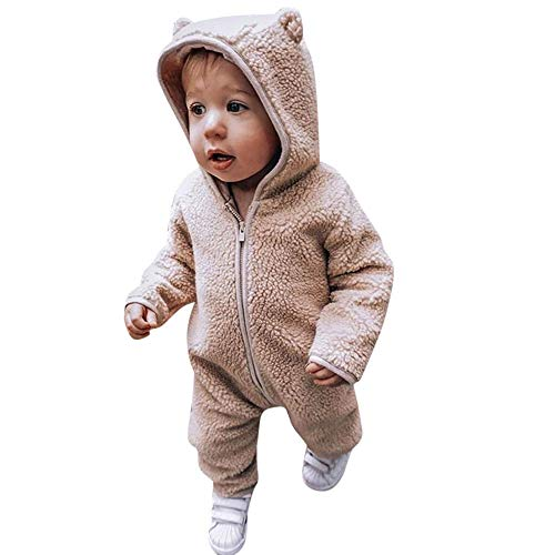 MRULIC Säugling Baby Playsuit Mädchen Jungen Overall Walkanzug -