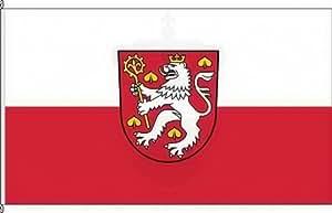 Bannerflagge Großlohra - 150 x 500cm - Flagge und Banner