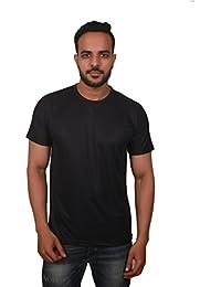 Krishnile Men Sports / Plain / Solid / Basic Polyester Short Sleeves Polo Neck T-Shirt