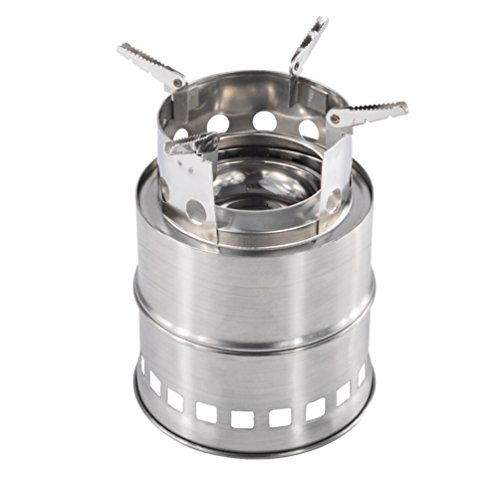 iRegro Portable Camping Stove ... - IRegro Portable Camping Stove, Outdoor Multi-Fuel Charcoal