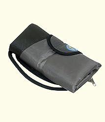 Kuber Industries Folding Shopping Bag , Travelling bag in Rexine material (Waterproof)