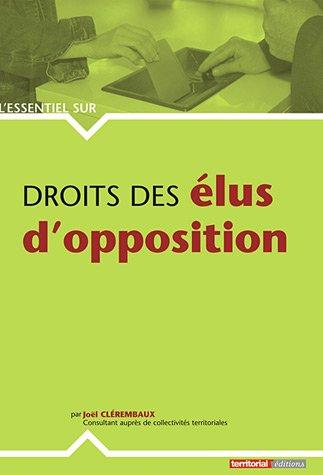 Droits des élus d'opposition
