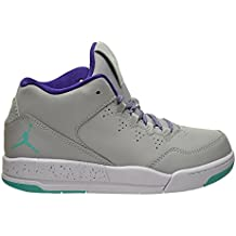 ea5fc5d190285 Jordan Flight Origin 2 GP Little Kids Shoes Wolf Grey/Retro-Crt Purple-