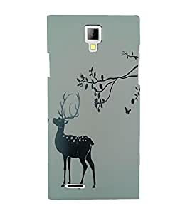 Perfect print Back cover for Miromax Canvas Xpress A99
