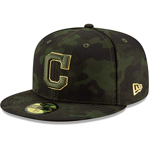 New Era 59Fifty Armed Forces Cap - MLB Cleveland Indians