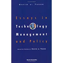 Essays in Technology Management and Policy by David J. Teece (2003-04-12)