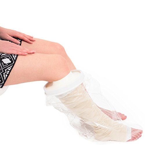 Vitility Protector impermeable - media pierna proteja su vendaje o escayola mientras se ducha NE550643310