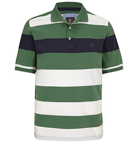 JAN VANDERSTORM Herren Poloshirt ARWID in Übergröße   Große Größen   Plus Size   Big Size   XL XXL XXXL 4XL 5XL 6XL 7XL 8XL 9XL 10XL Grün