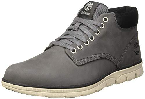 Timberland Bradstreet Leather Sensorflex, Baskets Chukka Homme, Grau (Castlerock M80),45.5 EU