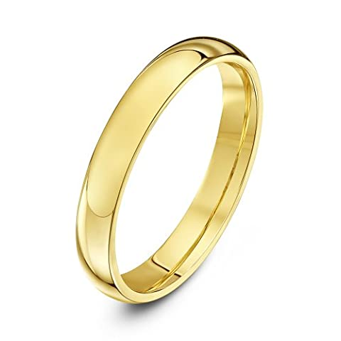 Theia Bague Or - 375/1000 Or jaune Femme - Taille 50 (15.9)