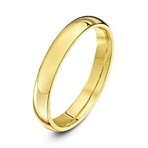 Theia Bague 18carats (750/1000) Or jaune Femme - Taille 49 (15.6)