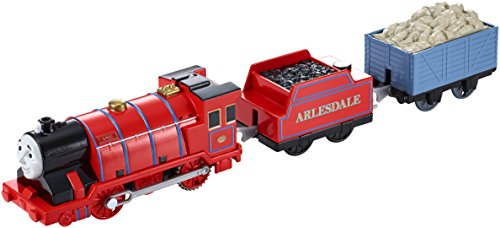 Fisher-Price Mattel CDB77 - Thomas & Freunde - Trackmaster - Mike, motorisierte Lokomotive [UK Import] (Movie-cars Dvd)