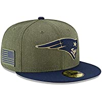 New Era New England Patriots On Field 18 Salute to Service Cap 59fifty 5950 Fitted Limited Edition