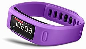 Garmin Vivofit - Bracelet d'activité connecté avec écran - jusqu'à 1 an d'autonomie - Ceinture cardio-fréquencemètre inclus - Violet