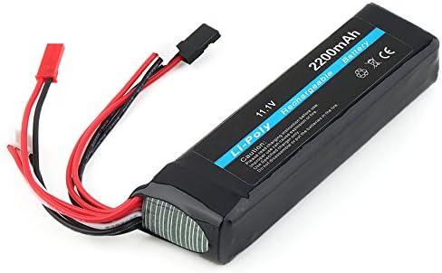 Beetest Beetest Beetest 3-connexion 11.1V 2200mAh 20C batterie Li-Polymer batterie Rechargeable au Lithium pour télécomFemmede de Futaba FF8 FF9 | Art Exquis  266689