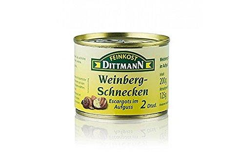 Weinberg Schnecken, 2 Dutzend, groß, Dittmann, 200g, 24 St