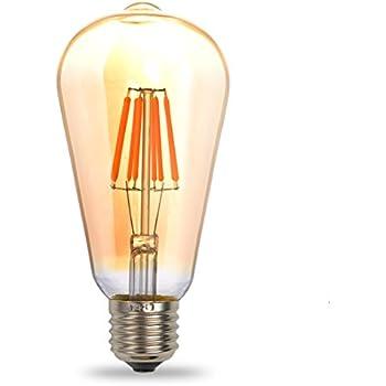 shine co led lampe edison etoiles vintage ampoule e27 st64 3w de la source de lumi re d corative. Black Bedroom Furniture Sets. Home Design Ideas