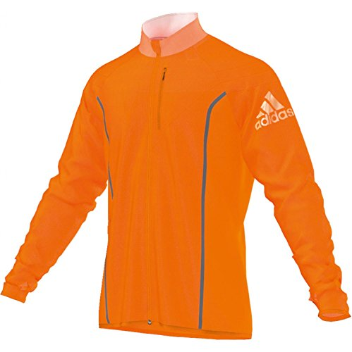 adidas Faster Anthem Jacket ORANGE D82618 Grösse: L Orange