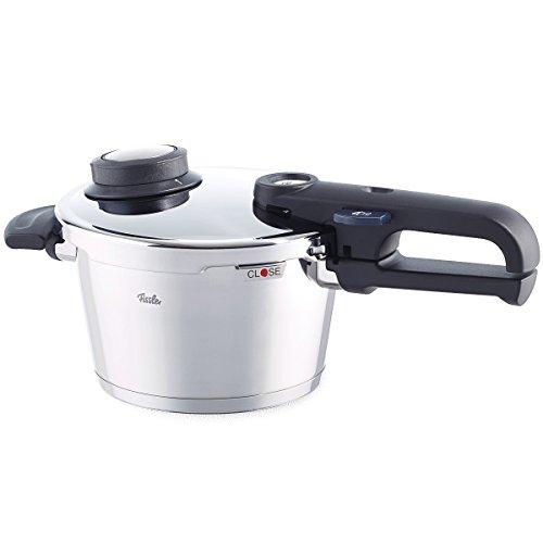 Fissler Schnellkochtopf Edelstahl vitavit premium | 2,5 L Dampfkochtopf 18 cm Durchmesser | Induktion, Gas, Ceran, Elektro | 620-100-02-070/0