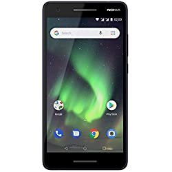 Nokia 2.1 - Smartphone Débloqué 4G (Ecran : 5,5 pouces - 8Go ROM - Dual SIM - Andoid Oreo) Bleu/Cuivre