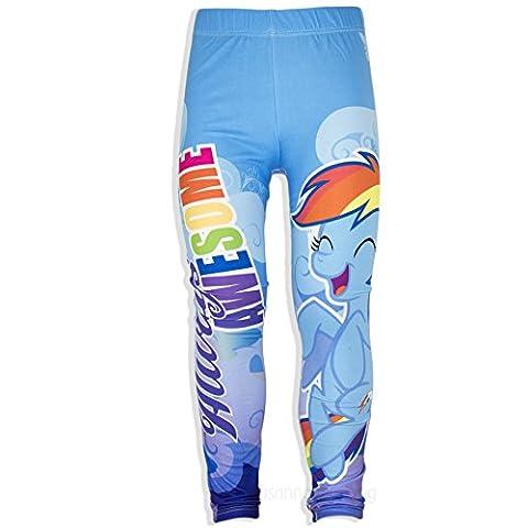 My Little Pony Licensed - Leggings - Fille bleu bleu - bleu - 7-8 ans