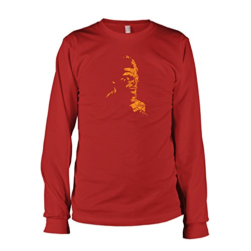 TEXLAB - Mosaic Snake - Herren Langarm T-Shirt, Größe XXL, (Kostüm Cosplay Venom)