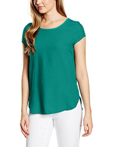 Vero Moda BOCA SS BLOUSE NOOS - T-Shirt - Femme Vert (tidepool)