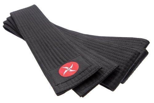 OBI Gürtel Kendo Aikido-Jacke, aus japanischem schwarz (Größe: 320 x 7,5 cm aus Baumwolle