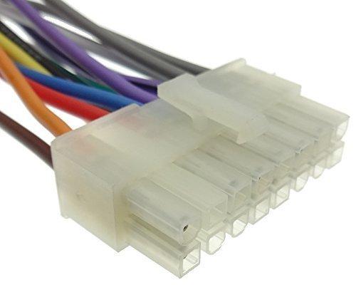 Clarion (2) Adattatore per autoradio con fascio di cavi, cavo di collegamento DIN ISO