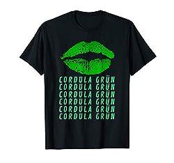 Cordula Grün Kostüm Karneval Wiesn Apres Ski Party lustig T-Shirt