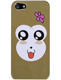Coque de protection arrière pour iPHONE 5TH generation 5ème génération Snapon Housse (Monkey Joy)