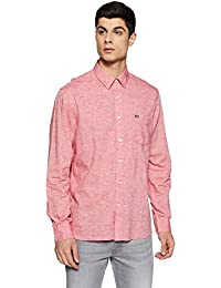 Arrow Sports Men's Solid Slim Fit Casual Shirt