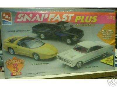 amt-6625-snapfast-plus-set-of-3-1993-ford-ranger-stx-4x4-1966-ford-fairlane-and-1993-pontiac-firebir