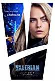 Valerian and The City of a Thou.Sand Planets - U.S Movie Wall Poster Print - 43cm x 61cm / 17 inches x 24 inches A2