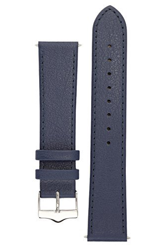 signature-seasons-in-blue-20-mm-extra-long-watch-band-replacement-watch-strap-genuine-leather-silver