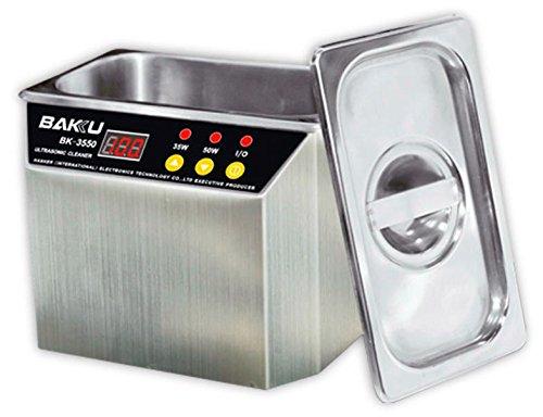 Limpiador de Metales Ultrasónico 50W BAKU-3550 (Para Limpieza de Joyas,