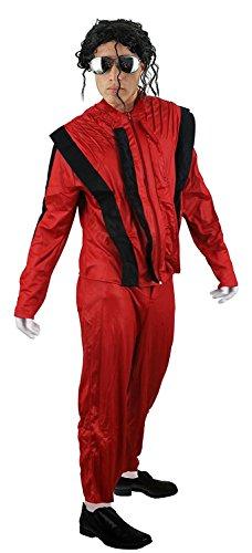 ILOVEFANCYDRESS I Love Fancy Dress ilfd4015m Herren King of Pop Kostüm ()