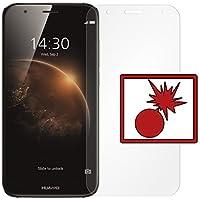 """2 x Slabo Protector de pantalla blindado para Huawei G8 / GX8 (protector de pantalla reducido, a causa de la pantalla curvada) """"Shockproof"""" A prueba de golpes Invisible MADE IN GERMANY"""