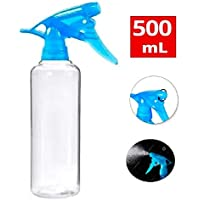 Ionix Refillable Spray Bottle, 500 Ml Capacity, sanitizer spray bottles empty, sanitizer spray bottle (Transparent)- Pack of (1)