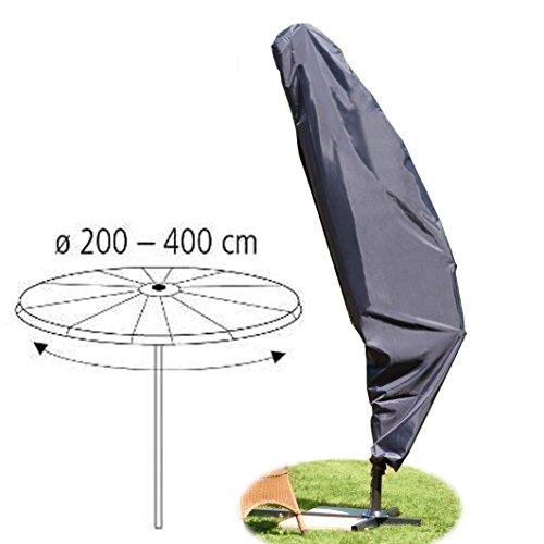 Schutzhülle für Ampelschirm Schirm-Ø 200-400 cm Polyester anthrazit