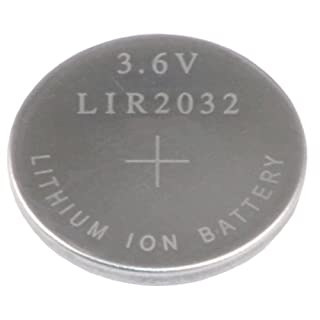 Kraftmax LIR-2032 Knopfzelle - Hochleistungsakku -  LIR 2032 / 3.6V / Lithium / Mainboard Backup Akku