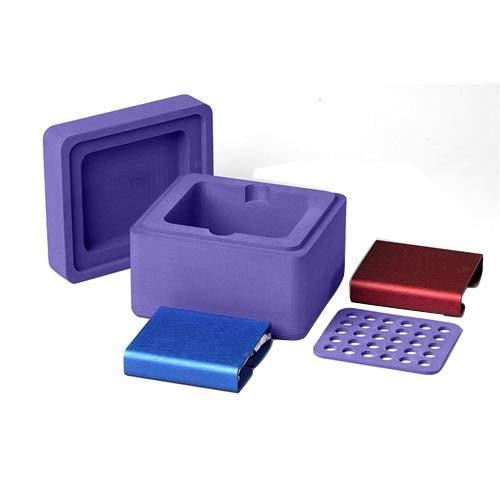 biocision bcs-130Kühlbox 30und Kühlbox MP Kühlung und Einfrieren System, Violett - Bcs Labs