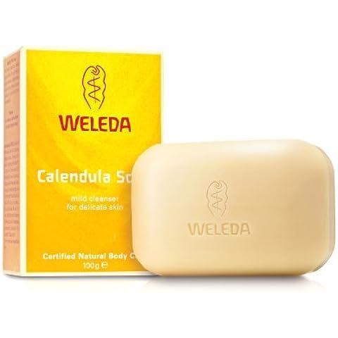 Weleda - 8520 - Jabón Caléndula Pastilla Weleda 100 g