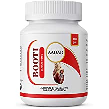 BOOTI Ayurvedic Powder for Cholesterol and Cardiac Care 100 GM, with Omega-3