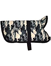 Sage Square Dog Winter Ultra Warm Camouflage Army Coat Thicker Fleece Dog Hoodie Vest for Cold Weather (1 Piece) (20Inch (Large))