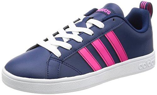Vs Advantage Low Damen W Adidas Amsel Ftwbla Sneaker Hals Blau Yv6f7bgy