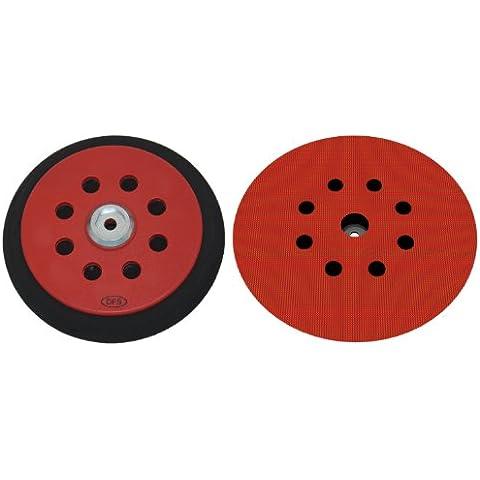 Plato lijador medio para Festool RO150 disco de lijado de VELCRO Ø 150mm - con 8-agujeros para la extracción de polvo - suave medio o duro - a su elección -