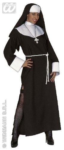 KOSTÜM - NONNE - Größe 34/36 (S) (Zubehör Kostüm Nonne)